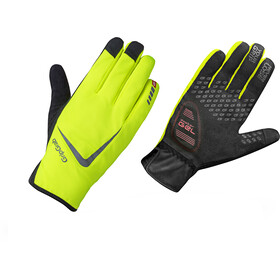 GripGrab Cloudburst Hi-Vis Waterproof Midseason Gloves fluo yellow